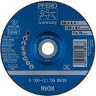 Schruppscheibe E 178-4,1 A 30 N SG-INOX PIPE/22,23