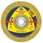 Schruppscheibe, EXTRA, A 24, gekröpft, Abm.: 100x6x16 mm