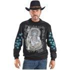 Chief Sweatshirt schwarz | M