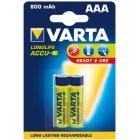 Akku RECHARGEABLE Wiederaufladbar Batterie  POWERMicro Blister 2 Stück 1,2
