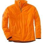 KRÄHE Polar Fleecetroyer orange | XL
