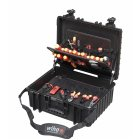 9300-702 KOFFER 80-tlg.; Competence XL - setbestücktWerkzeug Set Elektriker Competence XL