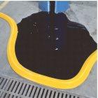 Spillblocker Deich PLRE204 Farbe gelb, Maße 30
