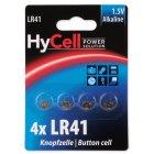 HyCell Alkaline Knopfzelle LR41 4er Blister