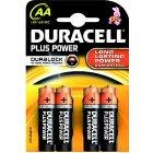 DURACELL Batterie MN1500LR6 Mignon PlusPowerAA K4