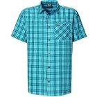 Jack Wolfskin Arthurs Vent Kurzarmhemd Turquoise Checks