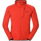 Jack Wolfskin Rock Sill Fleecejacke bright pumpkin