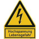 PWZHS Warnzeichen Hochspannung Lebens...