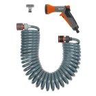 Spiralschlauch-Set 10 m, komplett mit Classic Bewässerungsbrause und Systemteilen | 4647-20