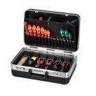 26 Liter ABS-Kunststoff Werkzeugkoffer schwarz leer