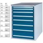 Werkzeugschrank System 800 S, Modell 32/8 GS -