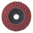 5 x Kombi-Lamellenschleifteller 125 mm, mittel,