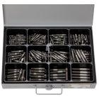 Sortiment Stiftschrauben DIN 939 Stahl Blank 5.86 x 20 - 10 x 50 mm 200 Teile