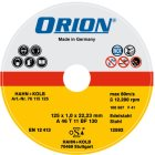 Trennscheibe für Edelstahl 115x1,0x22 mm INOX-Sch