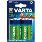 Akku RECHARGEABLE Wiederaufladbar Batterie  POWERMono Blister 2 Stück 1,2