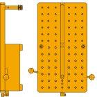 Auflageplatte für QUICKCHECK BxT 270 x 150 mm mit