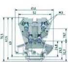 WIELAND ELECTRIC WK 4E/U/VO Etagenklemme
