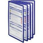Klarsichttafeln, einzeln Farbe: dunkelblau, VE = 5Stück für Format DIN A4