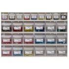 Klappboxenleiste mit Sicherungen + Elektroverbinder 414 x 601 x 94 mm 1300 Teile