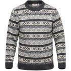 Fjällräven Övik Folk Knit Sweater grau | M