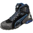 Puma Safety Rio Black Sicherheits-Stiefel S3 SRC EN ISO 20345 schwarz blau | 45