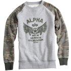 Alpha Industries Rescue Sweatshirt grau | XL