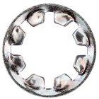Zahnscheibe innengezahnt DIN 6797 Stahl verzinkt From IZ