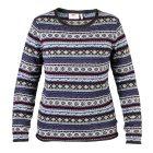 Fjällräven Övik Folk Knit Pullover uncle blue - GR: M