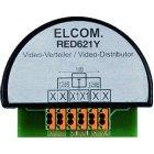 ELCOM RED621Y Videoverteiler/Abzweiger 2Draht