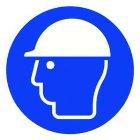 PGZKB Gebotszeichen Kopfschutz benutzen