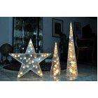 KONSTSMIDE 2592-103 LED Stern m.Sternen H35cm 20ww