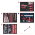 SCS Systemeinlagen-Satz, Tankstellenservice, 131-t
