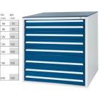 Werkzeugschrank System 700 B, Modell 32/7 GS -