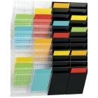 Wand-Prospekthalter aus schlagfestem Polystyrol HxBxT 1115x240x135 mm für Format DIN A4 Hoch