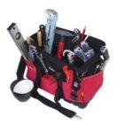 Textiltasche 5-TGU, komplett, mit Sanitär-Azubi-We rkzeugpaket 5, 25-teilig