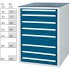 Werkzeugschrank System 700 S, Modell 32/7 GS -