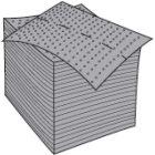 Saugmatte GRIPPY MAT 3200 Mattenrolle 41cmx61m mi