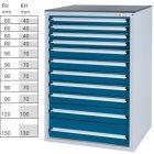Werkzeugschrank System 550 S, Modell 32/11 GS -
