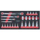 CHROMEplus® TX E-Profil-Werkzeug-Satz, 25-tlg. 783