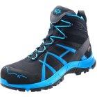 Haix Safety 40 Mid Sicherheits-Stiefel S3 HRO HI CI WR SRC ESD EN ISO 20345 schwarz blau   44