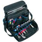 Nylon Notebook Werkzeugtasche schwarz