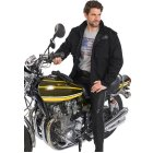 King Kerosin Speedforce Bikerjacke schwarz | L