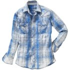 Springdale Hemd blau weiß | XXL
