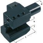 Axial-Werkzeughalter für NC-Drehmaschinen
