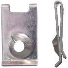Blechmutter Typ 5 Farblos verzinkt D5,5mm  1000Stück