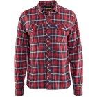 Bläkläder Stretch-Herrenhemd rot | M
