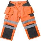 Mascot Lagarto Warnschutz-3/4-Hose orange grau | 46