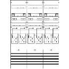 KA3316 Zählerfeld kpl. BH3 6Z