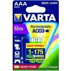 VARTA 56783 Toy Accu Micro AAA (Blister 2)