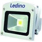 LEDINO LED-FLG10Snw LED-Strahler, 10W, 4000K